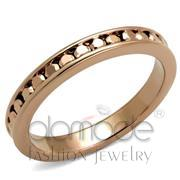 Wholesale AAA Grade CZ, Metallic Light Gold, IP Rose Gold(Ion Plating), Women, Brass, Ring