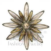 Wholesale Synthetic, Champagne, Antique Copper, Women, Brass, Brooches
