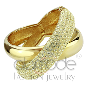 Wholesale Top Grade Crystal, Citrine Yellow, Gold, Women, Brass, Bangle