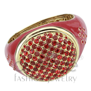 Wholesale Synthetic, Red Series, Gold, Women, Brass, Bangle