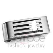 Wholesale No Stone, High polished (no plating), Men, Stainless Steel, Money clip