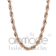 Wholesale No Stone, IP Rose Gold(Ion Plating), Women, Stainless Steel, Chain