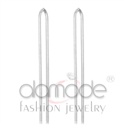 Wholesale No Stone, High polished (no plating), Women, Stainless Steel, Earrings
