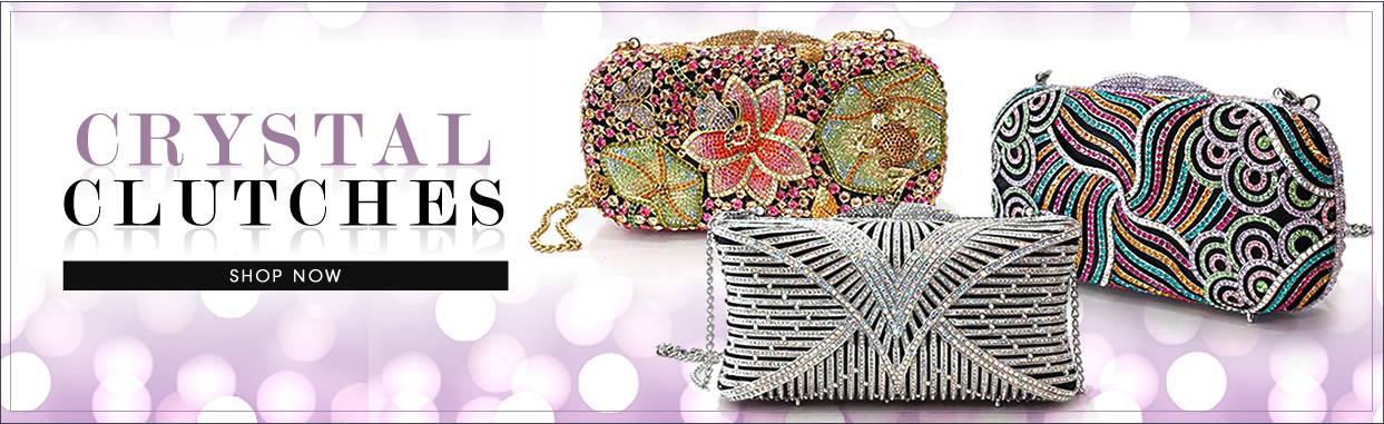 Collection;CRYSTAL CLUTCHES