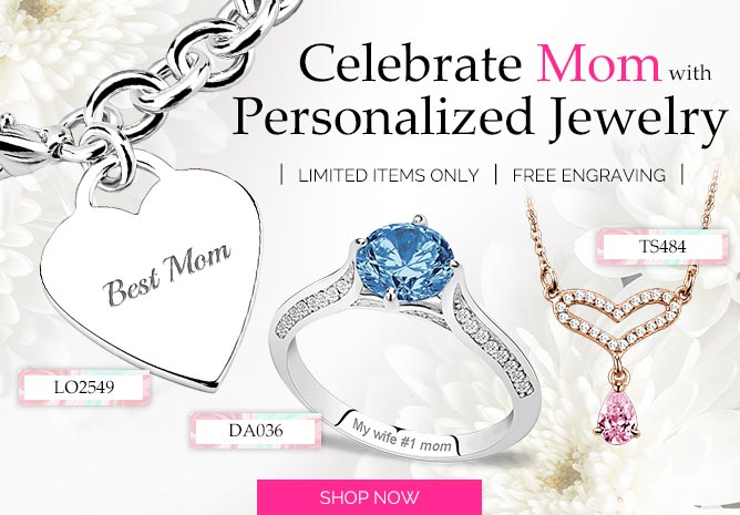 Mother's Day Personalized Jewelry